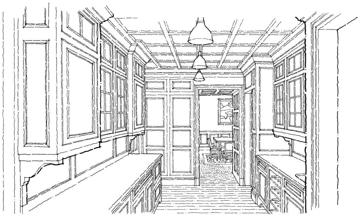New Butler Pantry in existing house