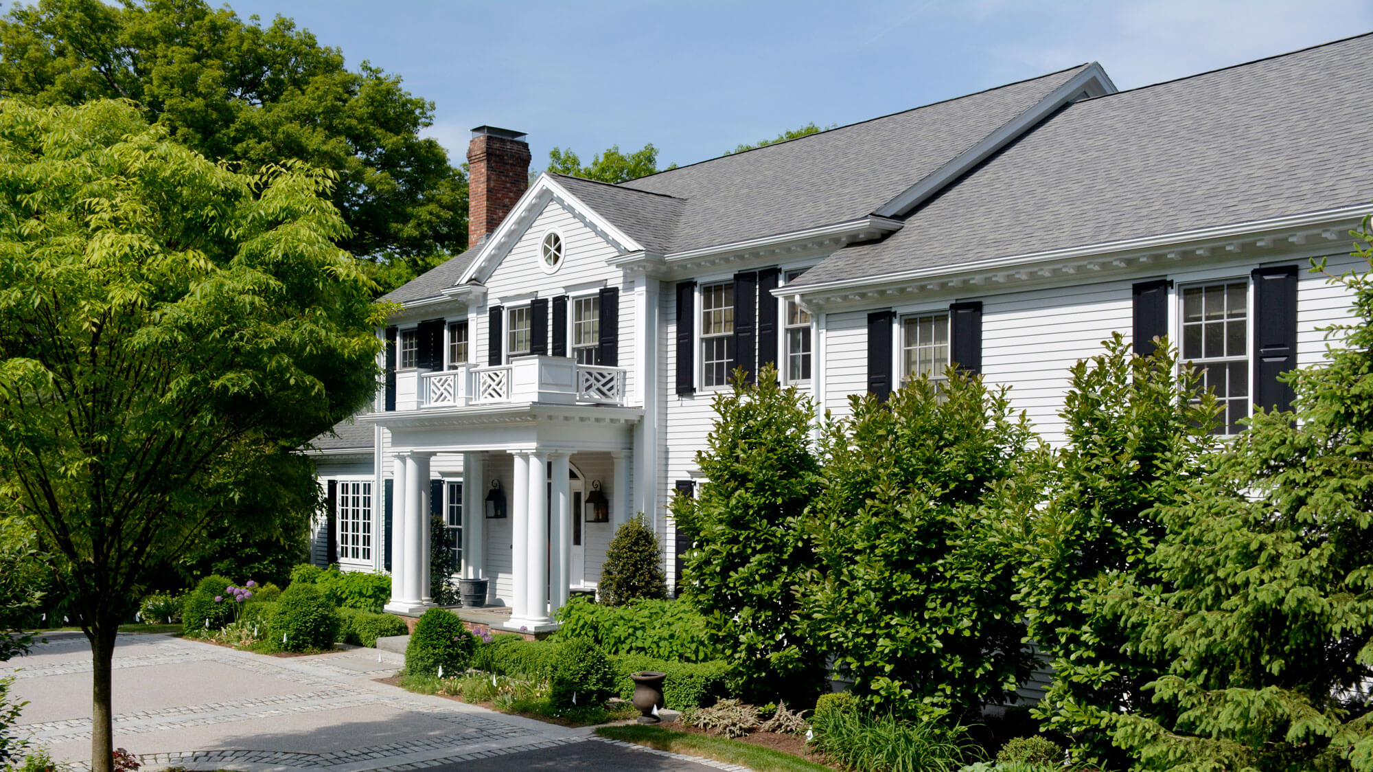 Colonial Revival House architect