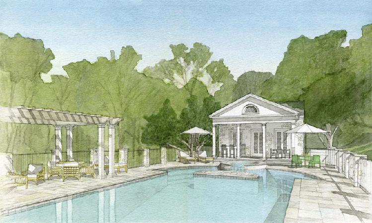 sheldon kostelecky architect water color