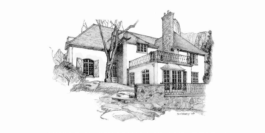 sheldon kostelecky architect - sketch