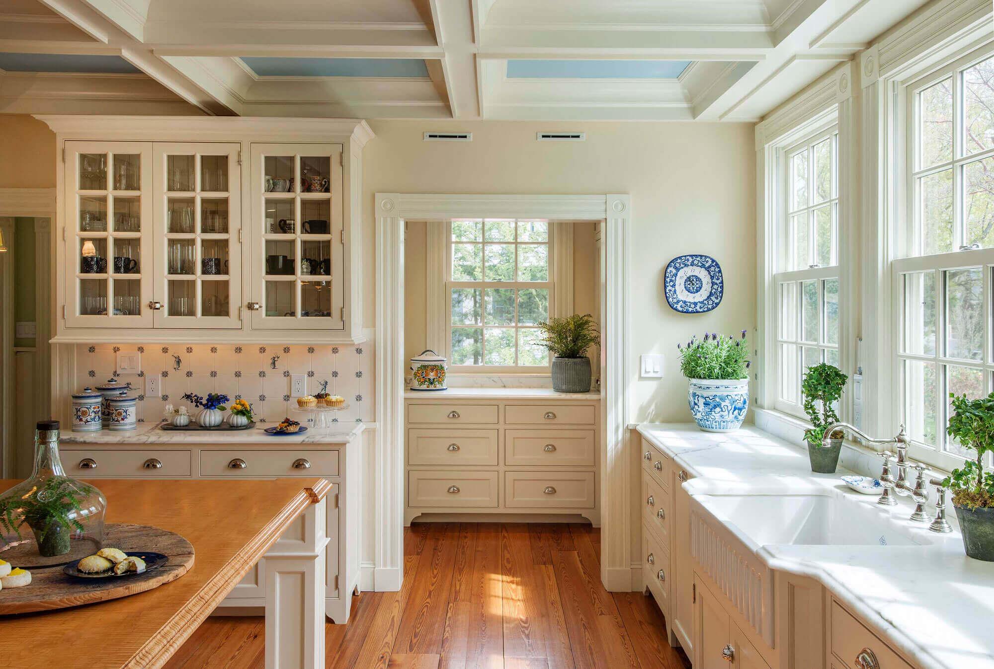 Greek Revival Kitchen - Architecture