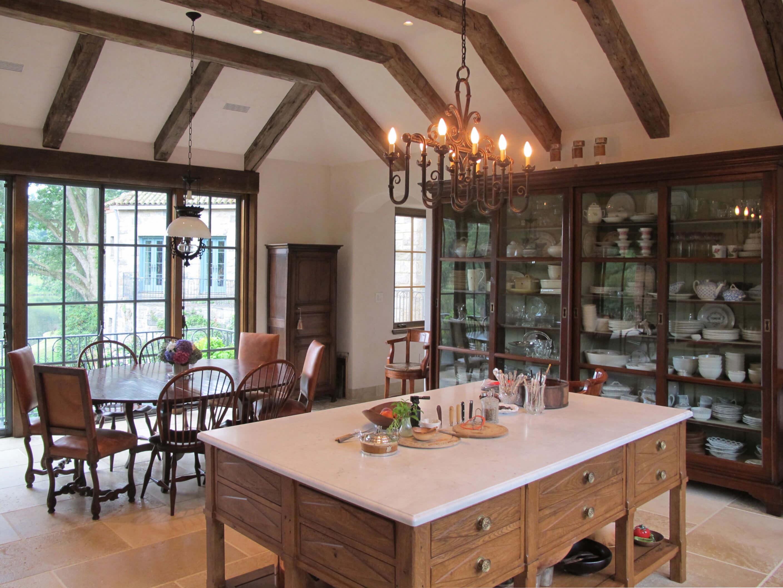 Spanish Revival Villa Kitchen
