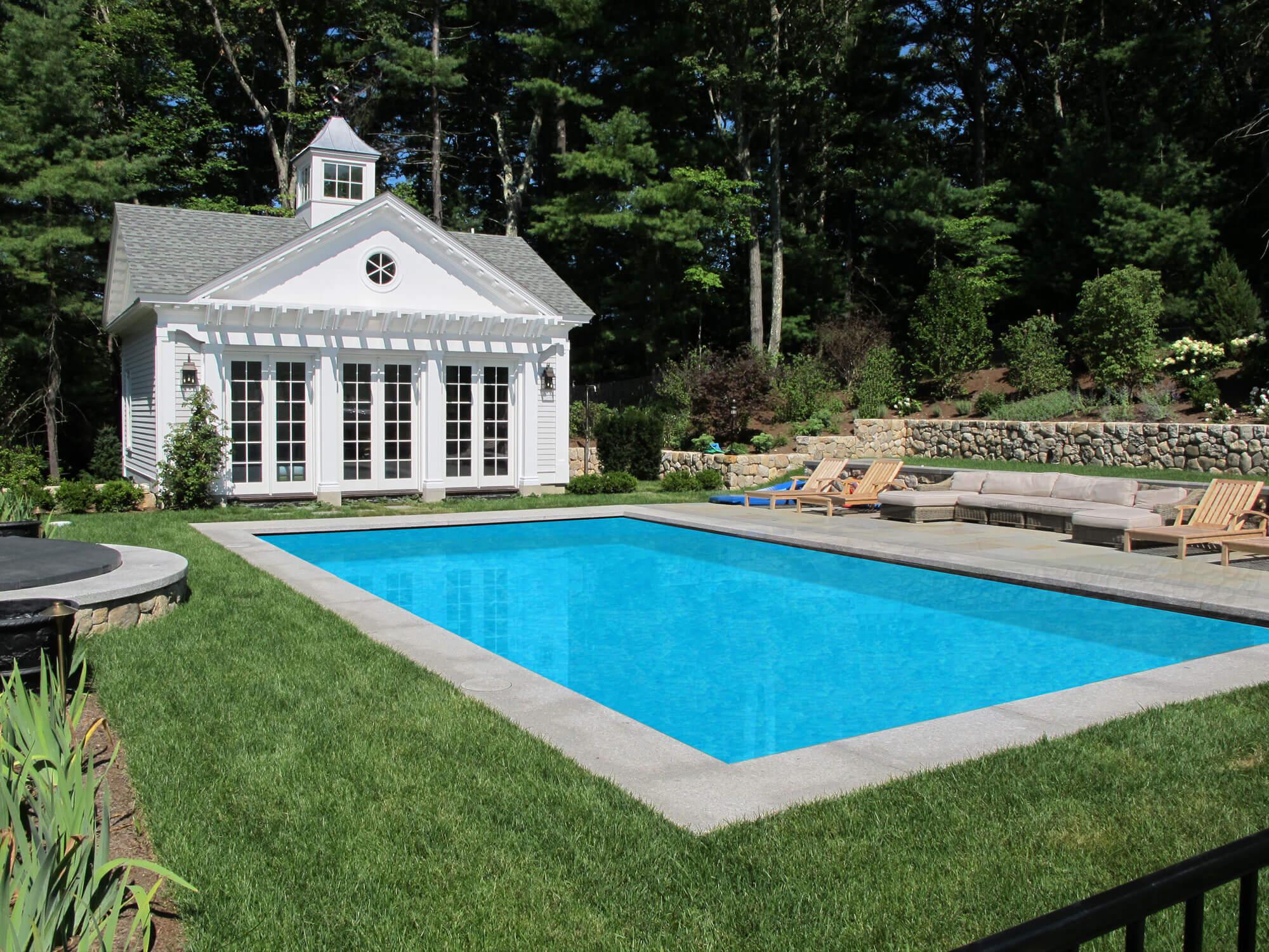 Back Yard Pool Addition - Architecture